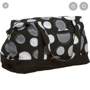 Thirty-one retro metro weekender bag happy dots